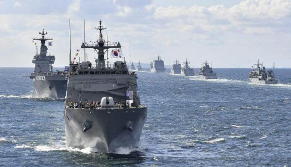 韓国:国際観艦式、済州に海軍基...