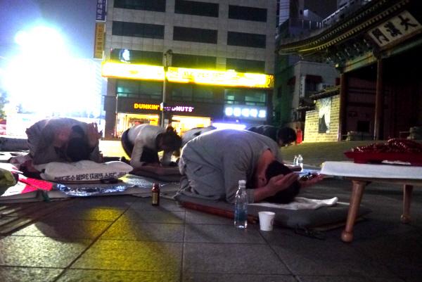 韓国:「切実ならかなう」...双竜...